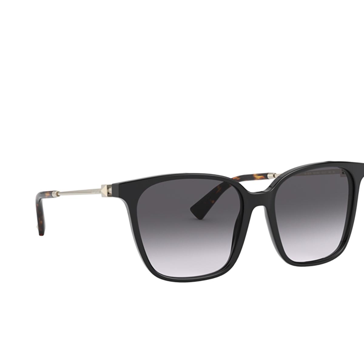 Valentino® Square Sunglasses: VA4078 color Black 50018G.