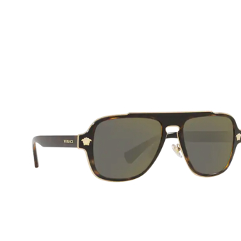 Versace® Aviator Sunglasses: Medusa Charm VE2199 color Dark Havana 12524T.