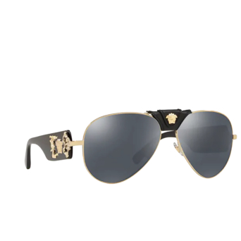 Versace® Aviator Sunglasses: VE2150Q color Pale Gold 12526G.