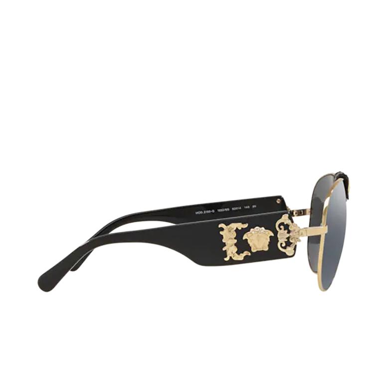 Versace® Aviator Sunglasses: VE2150Q color Pale Gold 12526G.