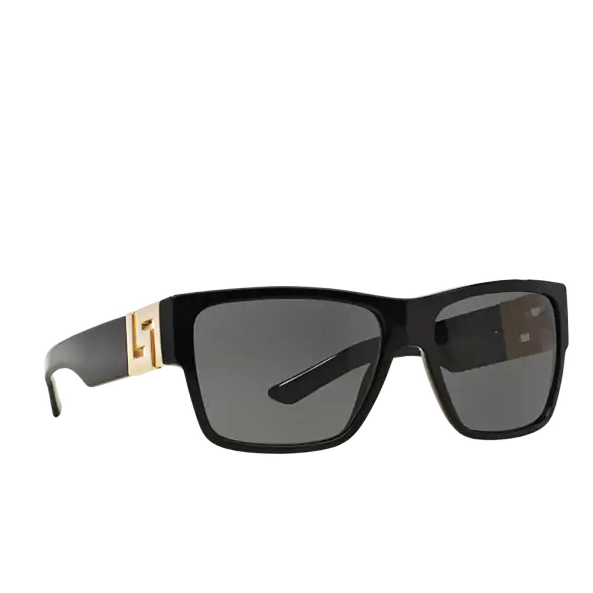 Versace® Square Sunglasses: VE4296 color Black GB1/87.