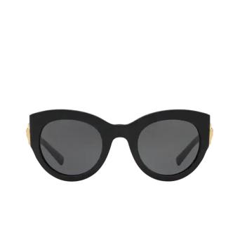 Versace® Cat-eye Sunglasses: VE4353 color Black GB1/87.