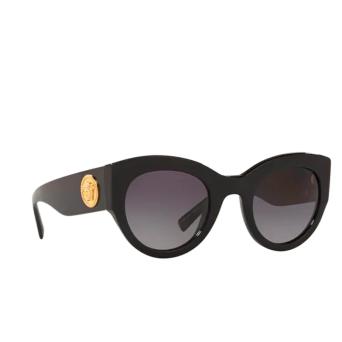 Versace® Cat-eye Sunglasses: VE4353 color Black GB1/T3.