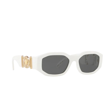 Versace® Irregular Sunglasses: VE4361 color White 401/87.