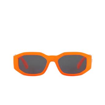 Versace® Irregular Sunglasses: VE4361 color Orange Fluo 532087.