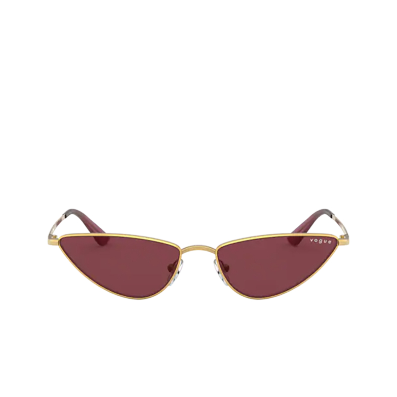 Vogue® Cat-eye Sunglasses: La Fayette VO4138SM color Gold 280/69.