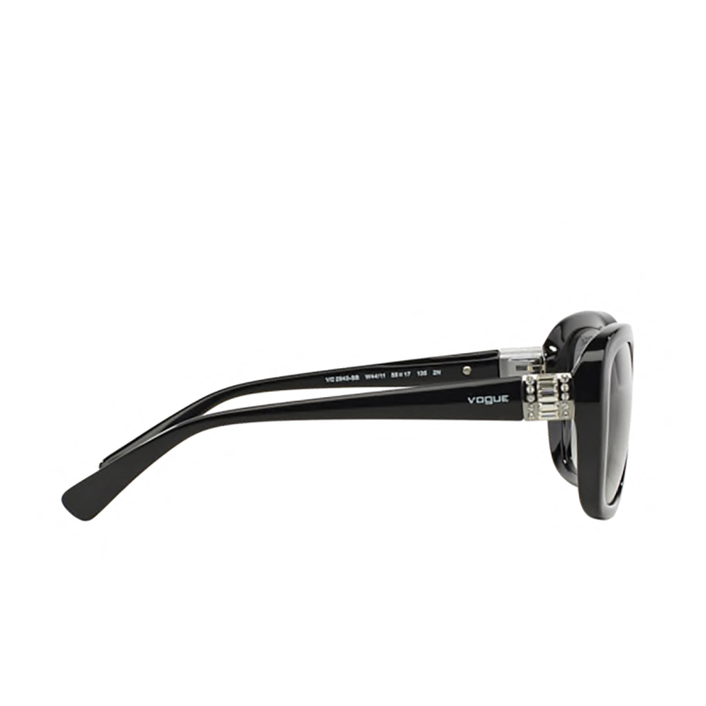 Vogue® Butterfly Sunglasses: VO2943SB color Black W44/11.
