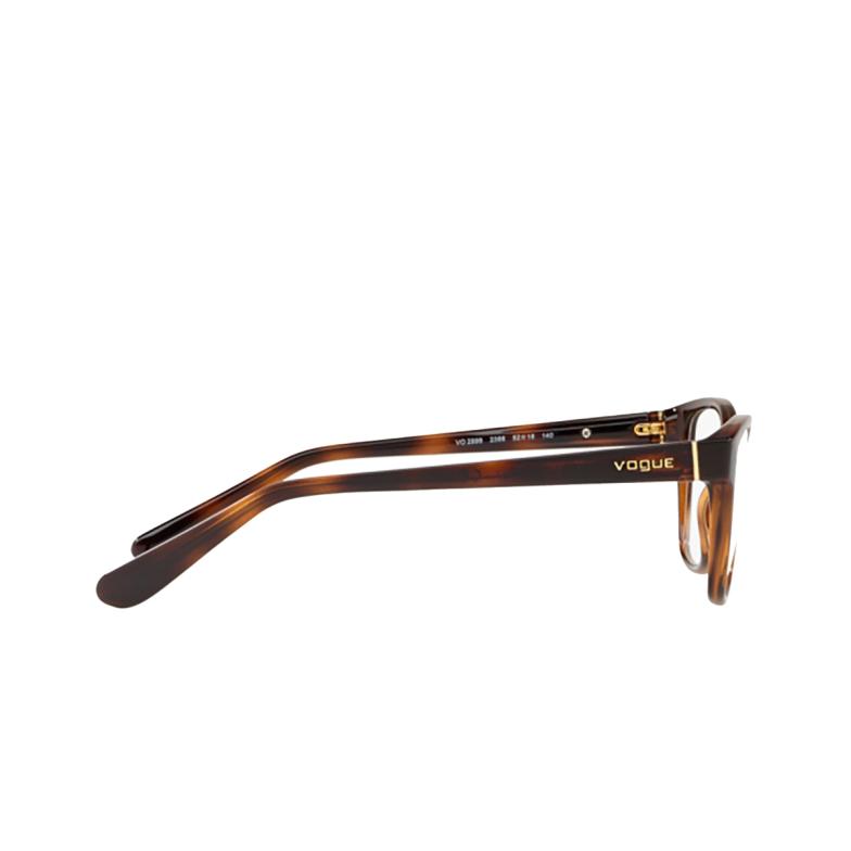 Vogue® Square Eyeglasses: VO2998 color Top Havana / Light Brown 2386.