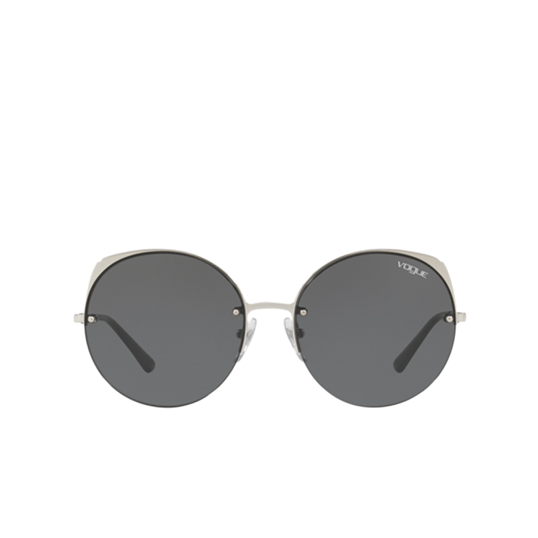 Vogue® Round Sunglasses: VO4081S color Silver 323/87.