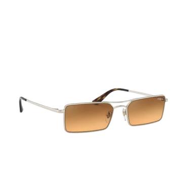 Vogue® Rectangle Sunglasses: VO4106SM color Pale Gold 848/7H.