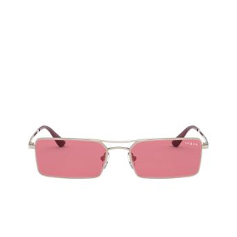 Vogue® Rectangle Sunglasses: VO4106SM color Pale Gold 848/F5.