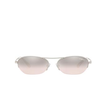 Vogue® Oval Sunglasses: VO4107S color Silver 323/8Z.
