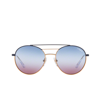 Vogue® Round Sunglasses: VO4117S color Blue / Rose Gold 50750K.