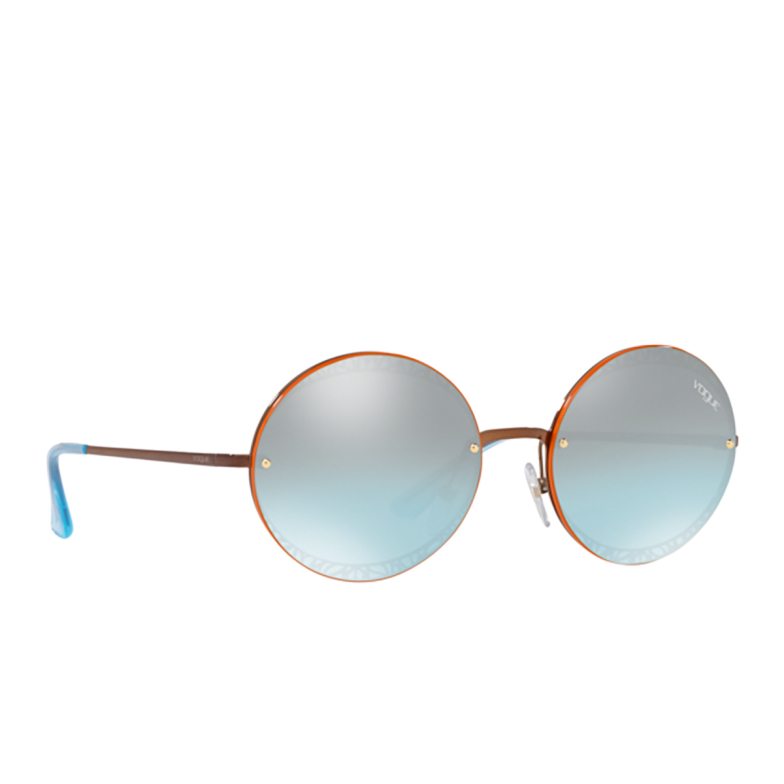 Vogue® Round Sunglasses: VO4118S color Copper 50747C.
