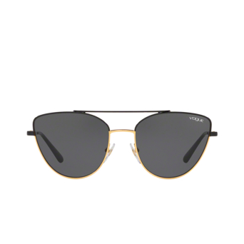Vogue® Butterfly Sunglasses: VO4130S color Black / Gold 280/87.