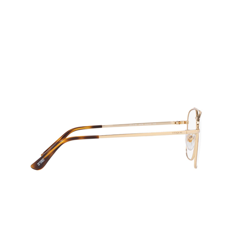 Vogue® Square Eyeglasses: VO4140 color Top Havana / Pale Gold 5078.