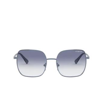 Vogue® Square Sunglasses: VO4175SB color Milky Blue 5125X0.