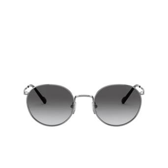 Vogue® Round Sunglasses: VO4182S color Gunmetal 548/11.