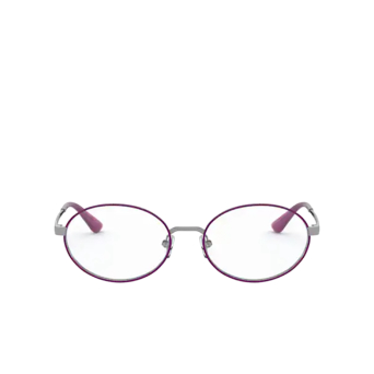 Vogue® Oval Eyeglasses: VO4190 color Gunmetal / Violet 548.