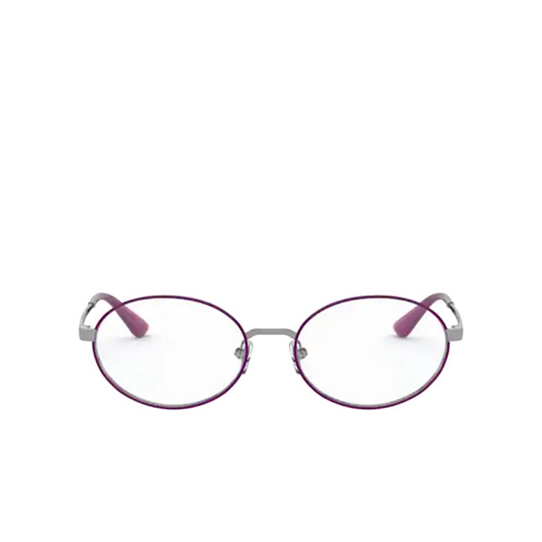 Vogue® Oval Eyeglasses: VO4190 color Gunmetal / Violet 548.