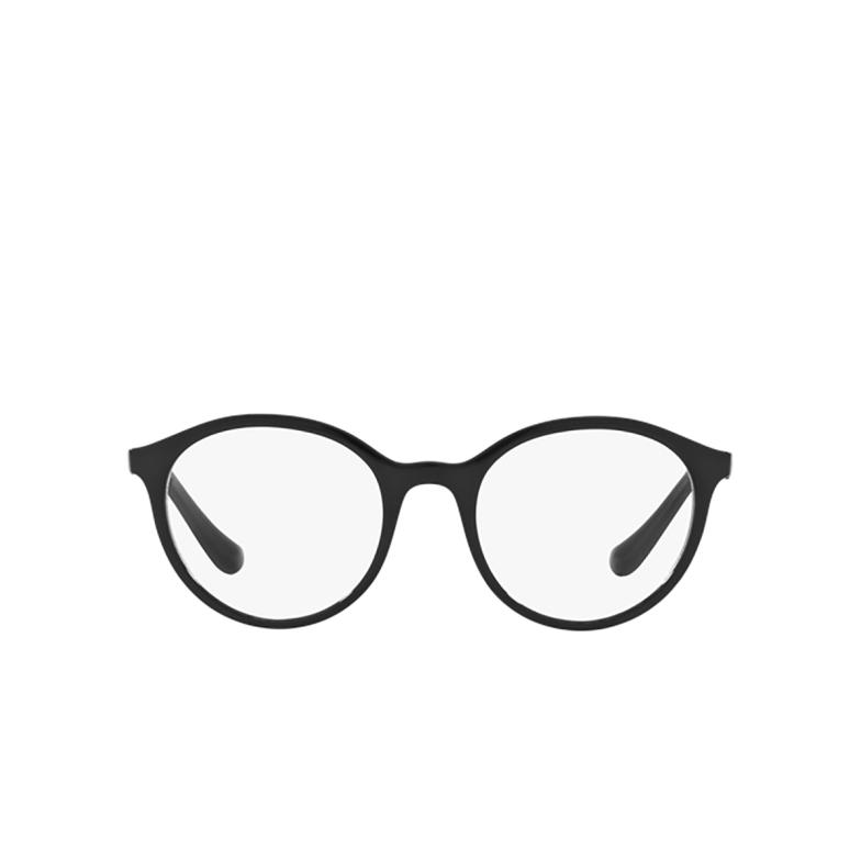 Vogue® Round Eyeglasses: VO5052 color Black W44.