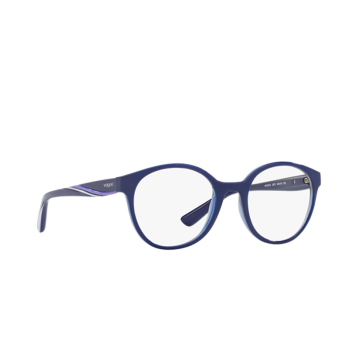 Vogue® Round Eyeglasses: VO5104 color Top Blue / Blue Transp 2471.