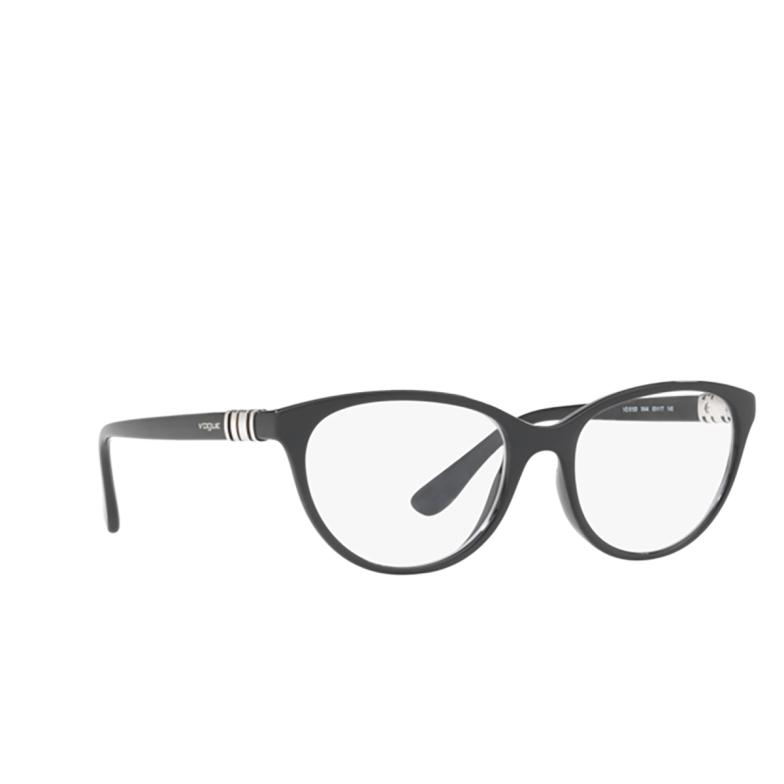 Vogue® Cat-eye Eyeglasses: VO5153 color Black W44.