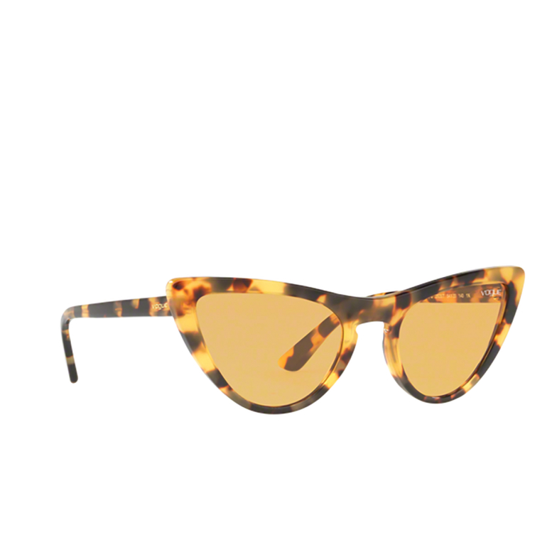 Vogue® Cat-eye Sunglasses: VO5211S color Brown Yellow Tortoise 2605/7.