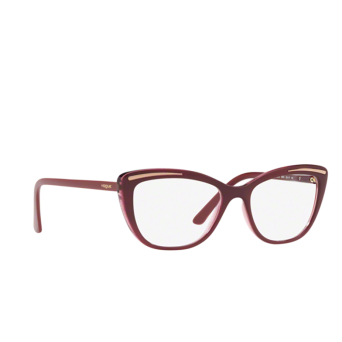 Vogue® Cat-eye Eyeglasses: VO5218 color Top Violet / Violet Transparent 2618.
