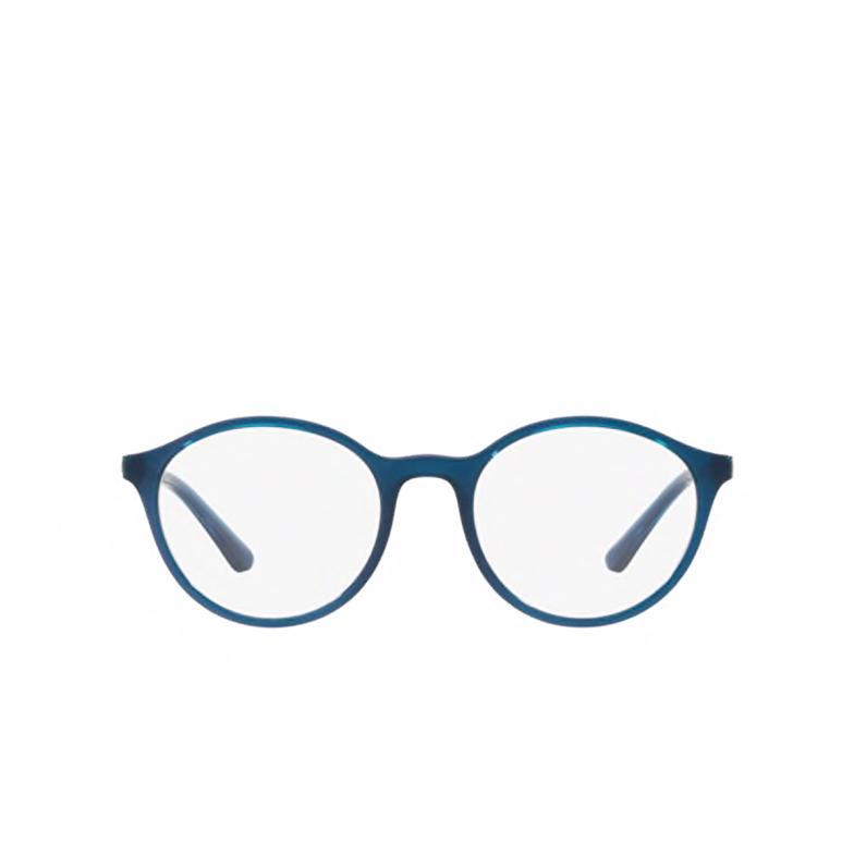 Vogue® Round Eyeglasses: VO5223 color Transparent Blue / Transparent Light Violet 2633.