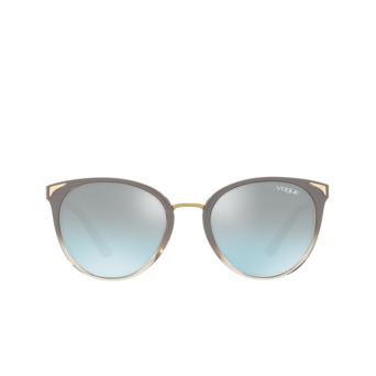 Vogue® Butterfly Sunglasses: VO5230S color Top Sand Gradient Sand Transparent 26427C.