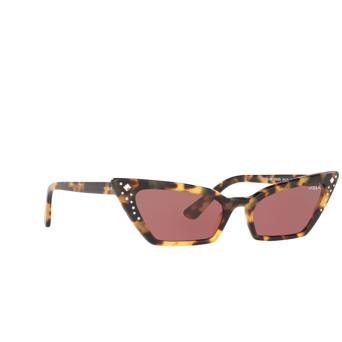 Vogue® Cat-eye Sunglasses: VO5282SB color Yellow Havana 260569.