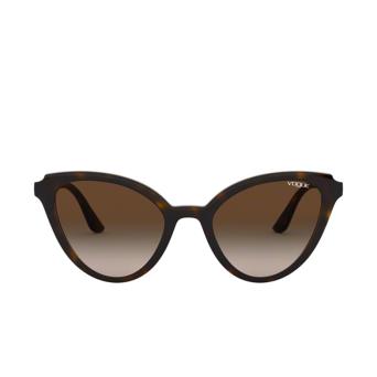 Vogue® Butterfly Sunglasses: VO5294S color Dark Havana W65613.