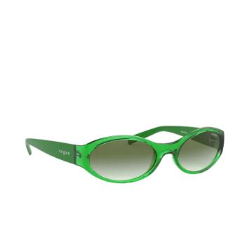 Vogue® Oval Sunglasses: VO5315S color Transparent Green 28028E.
