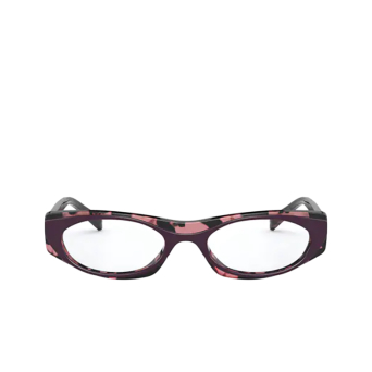 Vogue® Oval Eyeglasses: VO5316 color Top Violet / Rose Havana 2814.