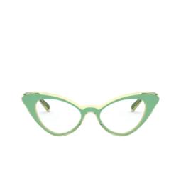 Vogue® Eyeglasses: VO5317 color Top Green / Transparent Beige 2810.