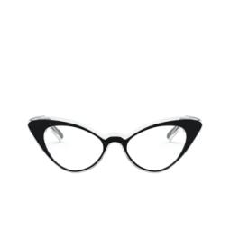 Vogue® Eyeglasses: VO5317 color Top Black / Crystal W827.