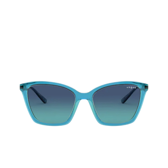 Vogue® Butterfly Sunglasses: VO5333S color Top Blue / Transparent Green 28464S.