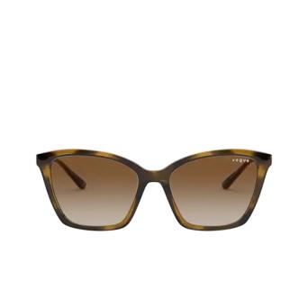 Vogue® Butterfly Sunglasses: VO5333S color Dark Havana W65613.