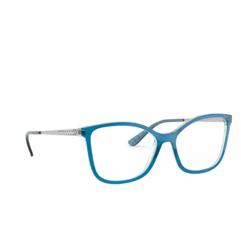 Vogue® Butterfly Eyeglasses: VO5334 color Blue Transparent / Light Blue 2846.