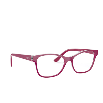Vogue® Square Eyeglasses: VO5335 color Top Violet / Serigraphy 2840.