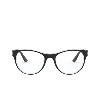 Vogue® Cat-eye Eyeglasses: VO5336 color Top Black / Serigraphy 2839.