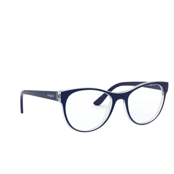 Vogue® Cat-eye Eyeglasses: VO5336 color Top Blue / Serigraphy 2841.