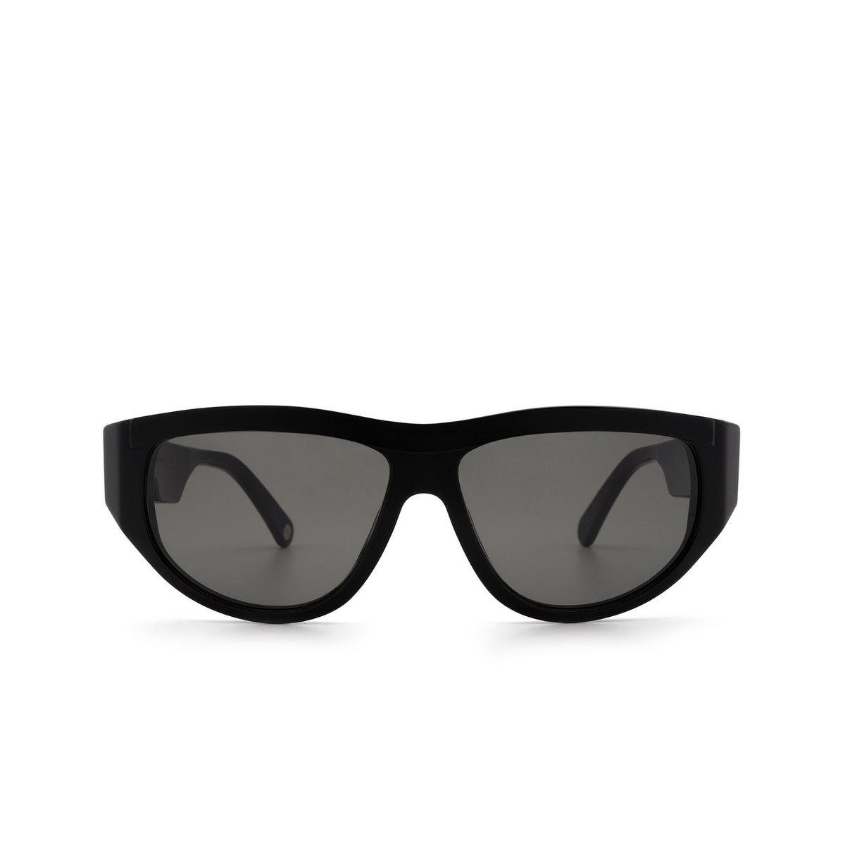 Ahlem® Mask Sunglasses: Bel Air color Black.