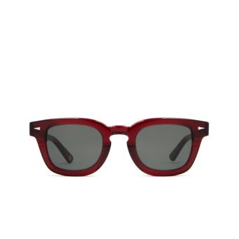 Ahlem® Square Sunglasses: Champ De Mars color Burgundy.