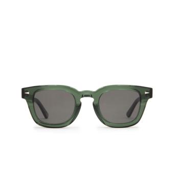 Ahlem® Square Sunglasses: Champ De Mars color Dark Green.