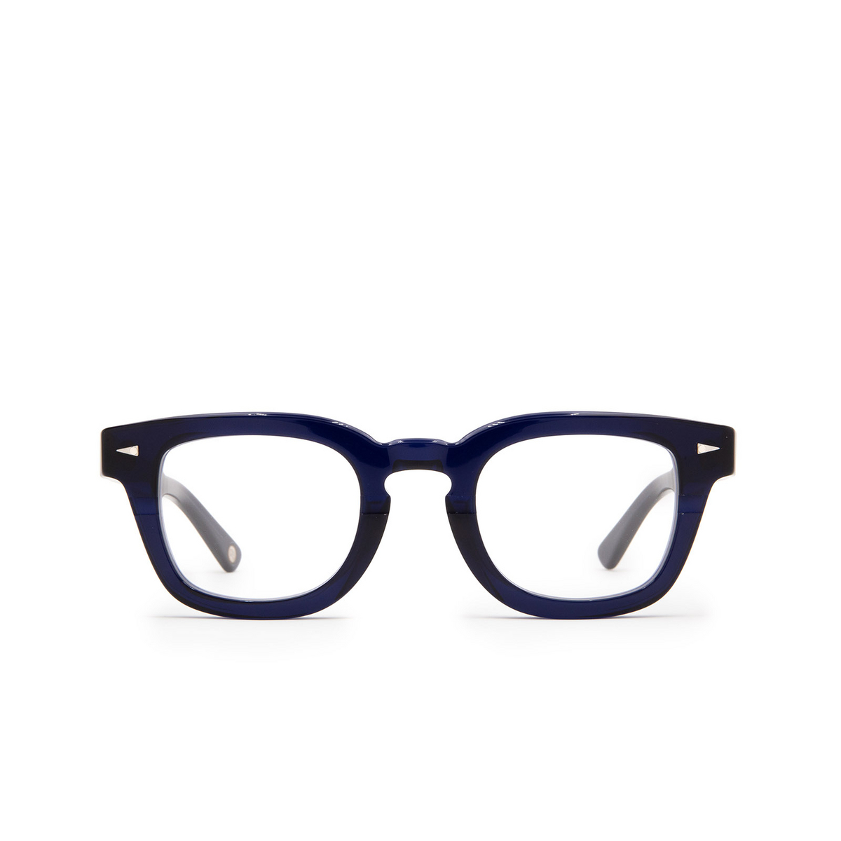 Ahlem® Square Eyeglasses: Champ De Mars Optic color Blue Light.