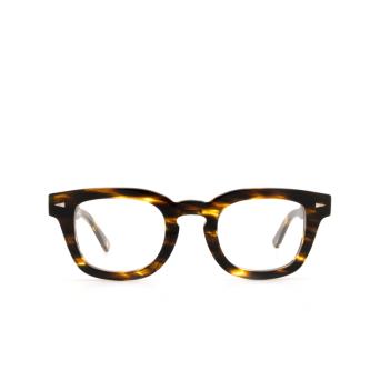 Ahlem® Square Eyeglasses: Champ De Mars Optic color Yellow Lines .