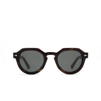 Ahlem® Irregular Sunglasses: Grenelle color Dark Turtle.