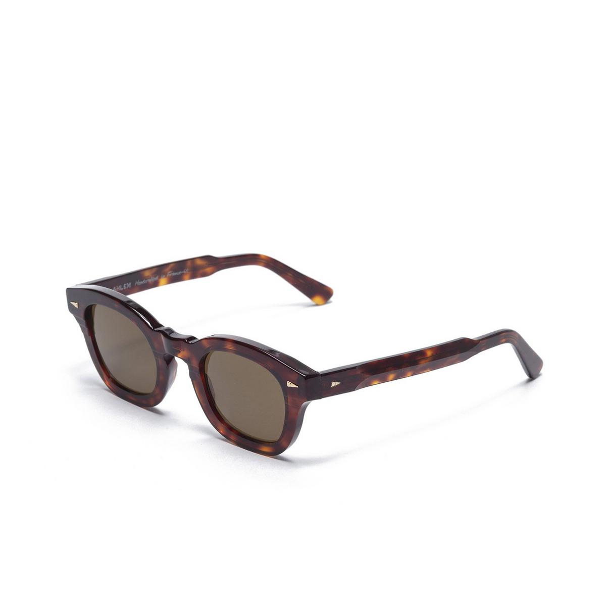 Ahlem® Square Sunglasses: Le Marais color Light Turtle.